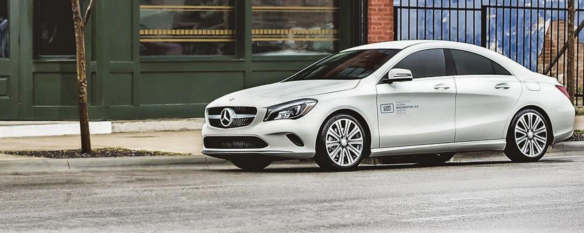 Una Mercedes CLA di Car2go