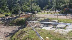 Una parte del percorso dove abbiamo potuto testare i BFGoodrich KM3
