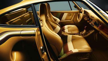 Una Porsche 959 tutta d'oro, evviva la sobrietà