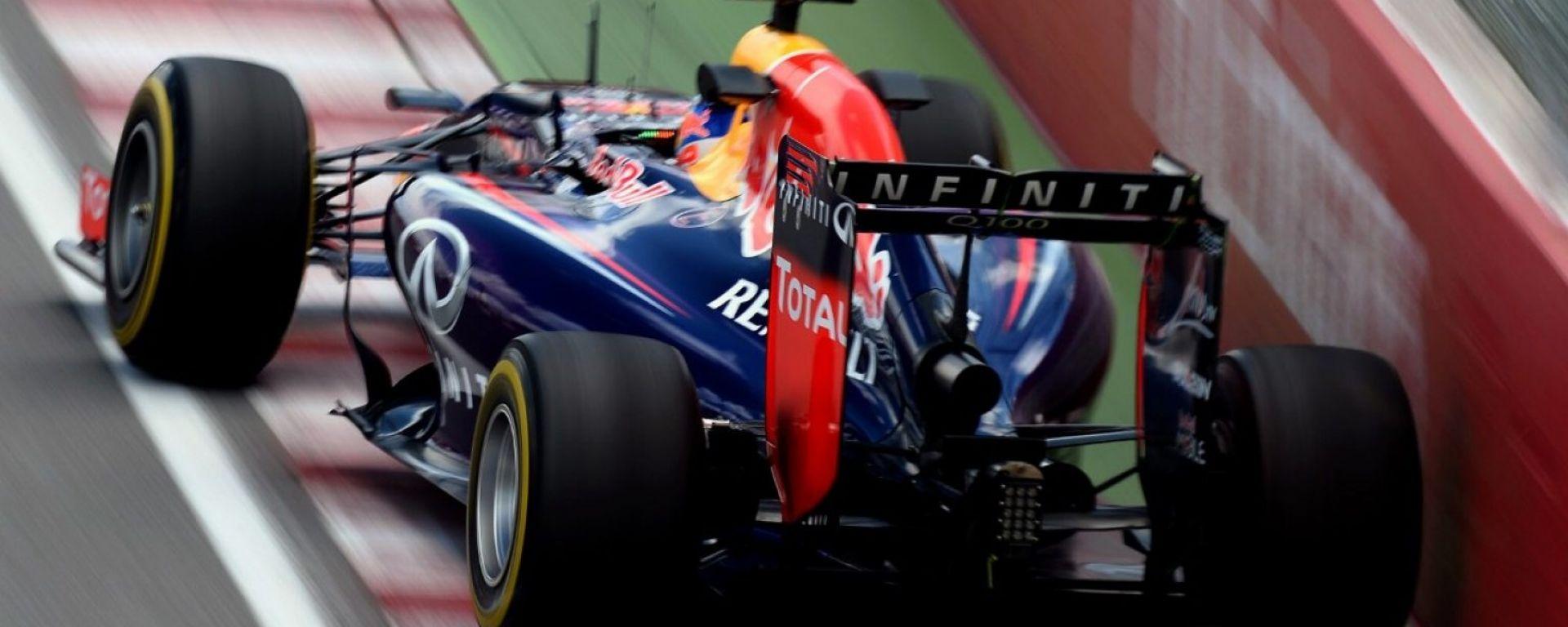 Una Red Bull alle prese con il famigerato