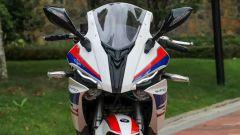 Una S1000RR: il frontale della Moto S450RR non lascia spazio a dubbi