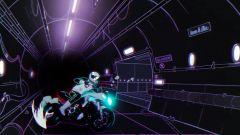 Una scena del cartone animato in cui la Suzuki Katana compare come protagonista