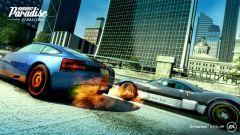 Una schermata di gioco di Burnout Paradise Remastered