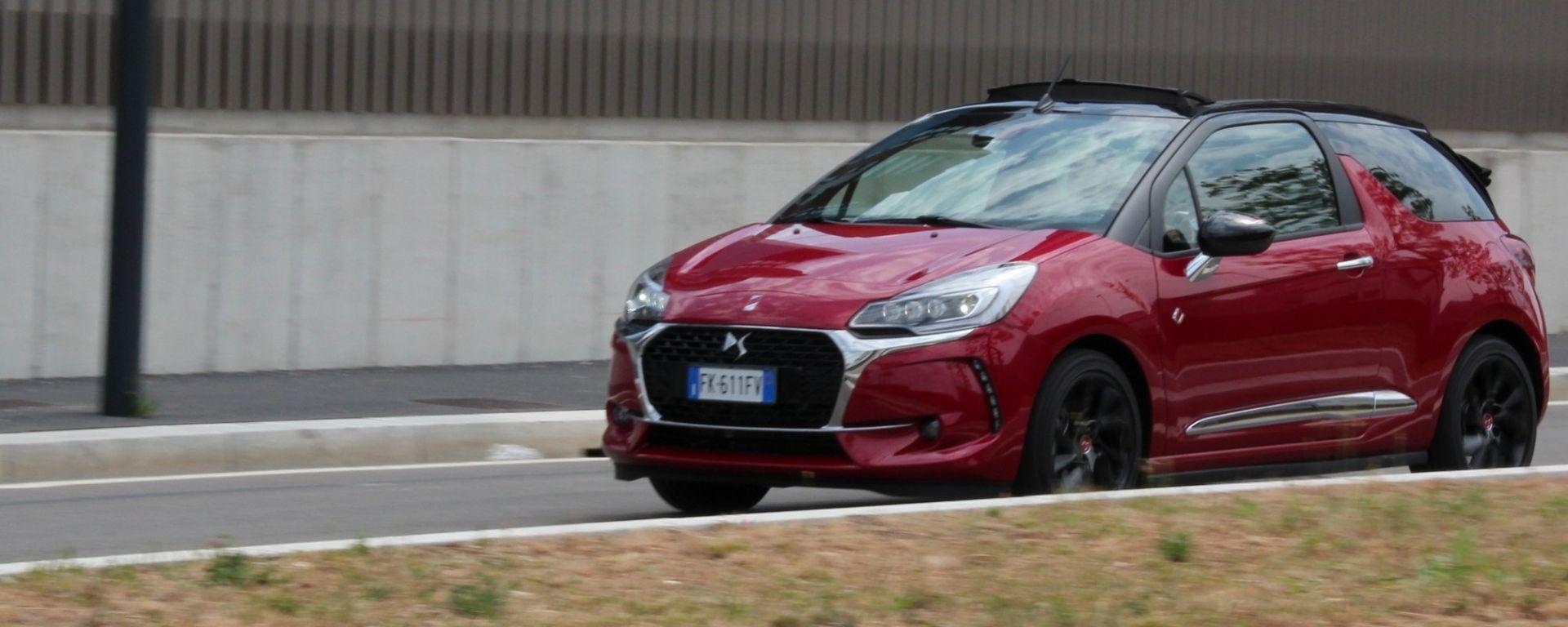 Una settimana con la DS3 Cabrio Performance Line