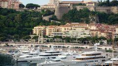 Una veduta del porto di Monte Carlo