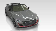Una vista della Hyundai N Roadster