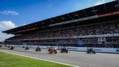 Un'altra prospettiva della partenza del Gran Premio di Thailandia 2019