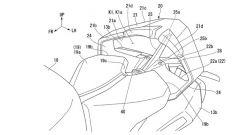 Un'altra visuale del nuovo codone Honda con funzione aerodinamica