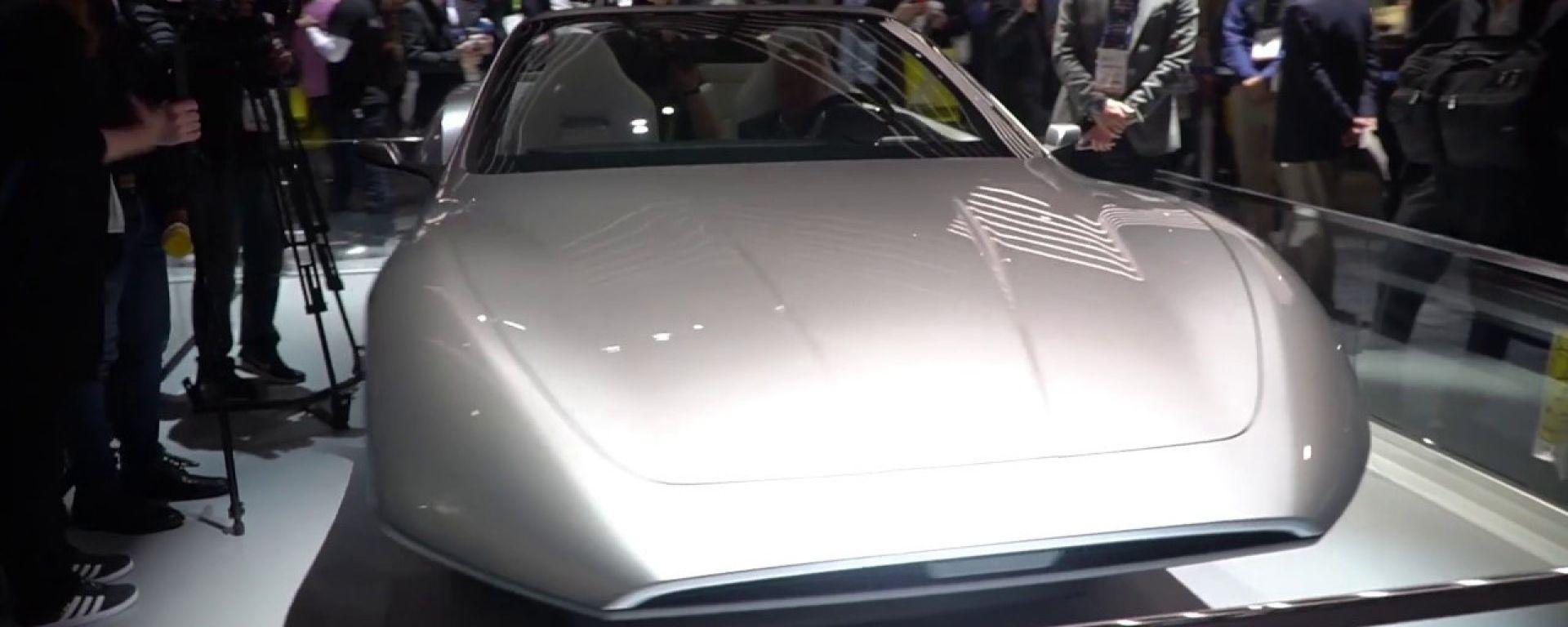 Un'auto del futuro secondo Samsung in un concept del 2018
