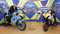 Uncini e Lucchinelli si godono le loro Suzuki