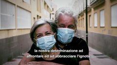 Un'immagine del filmato con il messaggio di Francis Ford Coppola per l'Italia