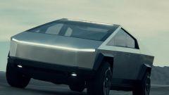 Un'immagine del Tesla Cybertruck