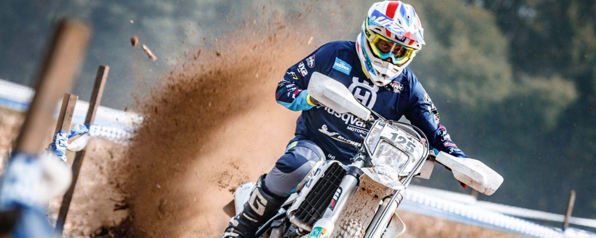Un'immagine del Trofeo Enduro Husqvarna 2019