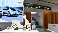 Un'immagine dello stand Bosch a EICMA 2019