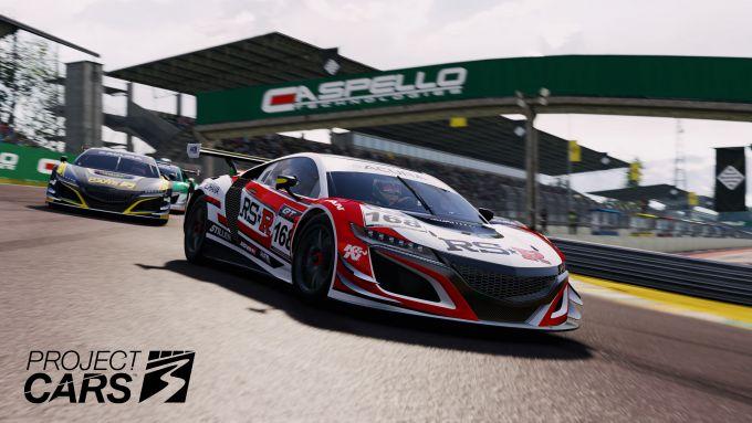 Un'immagine di gara di Project Cars 3