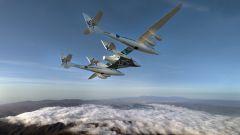 Uno dei velivoli di Virgin Galactic