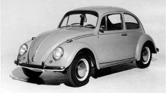 Uno storico Maggiolino Volkswagen