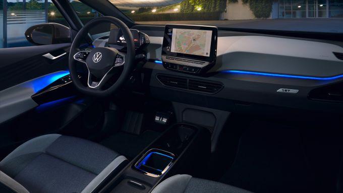 Update over-the-air: gli interni di Volkswagen ID.3