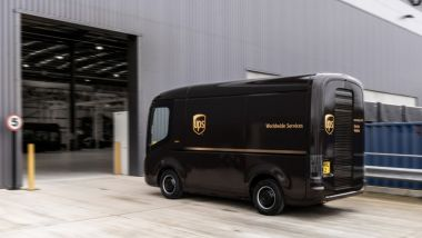 UPS ordina 10.000 furgoni elettrici per le consegne ''last-mile'' negli USA