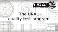 Ural Sidecar: ecco le prove per il controllo qualità - Immagine: 3