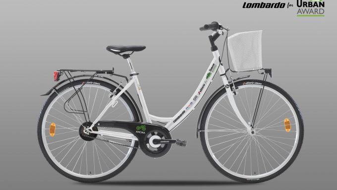 Urban Award 2020: la bicicletta regalata al comune di Parma