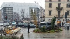 Urban Forest: una Jeep Renegade in piazza a Milano - Immagine: 5