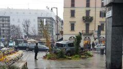 Urban Forest: una Jeep Renegade in piazza a Milano - Immagine: 7