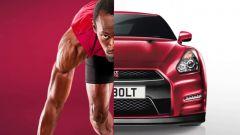 Olimpiadi: Marcell Jacobs e Usain Bolt vs Nissan GTR sui 100 m