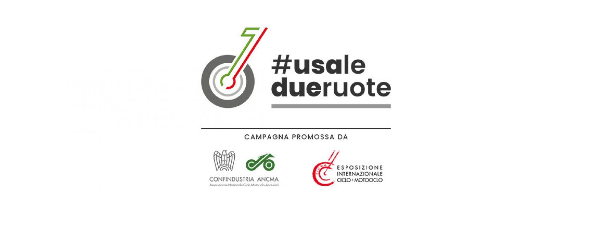 #usaledueruote, la campagna ANCMA e EICMA per incentivarne l'uso