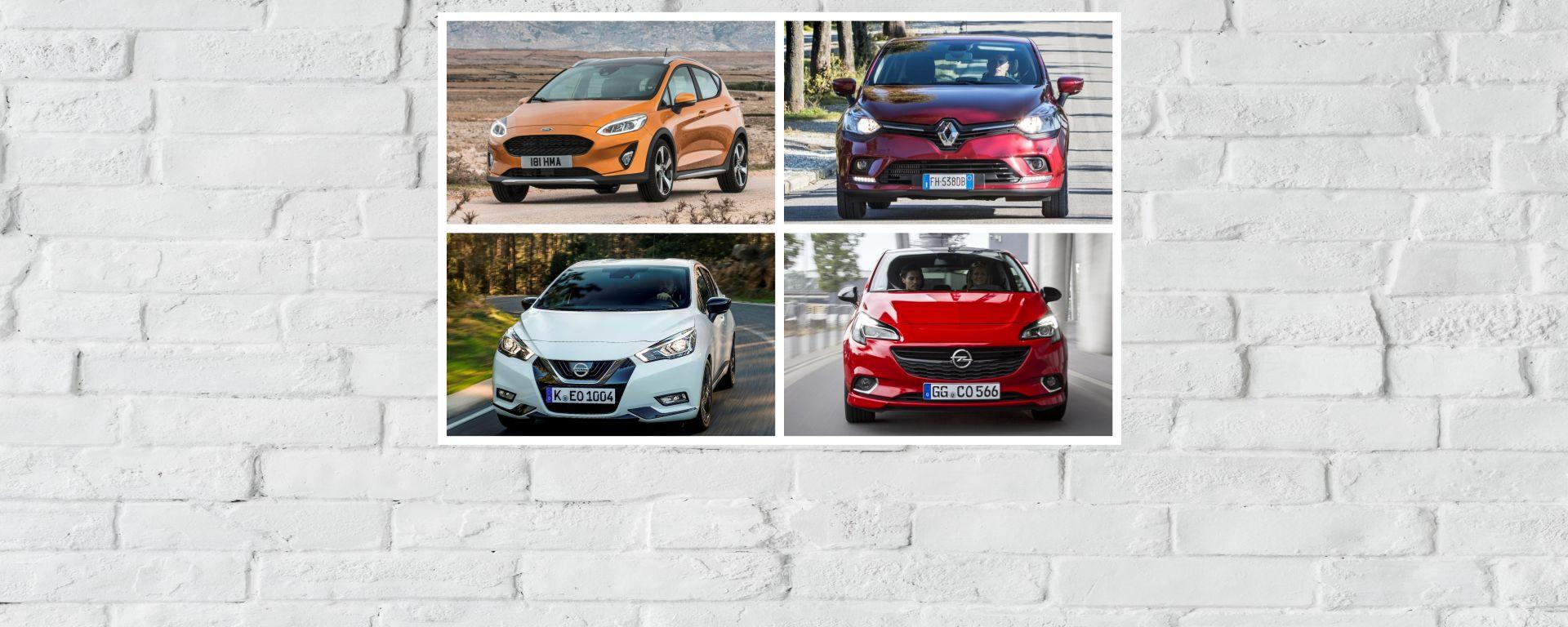 Utilitarie a GPL, Opel Corsa contro tutte