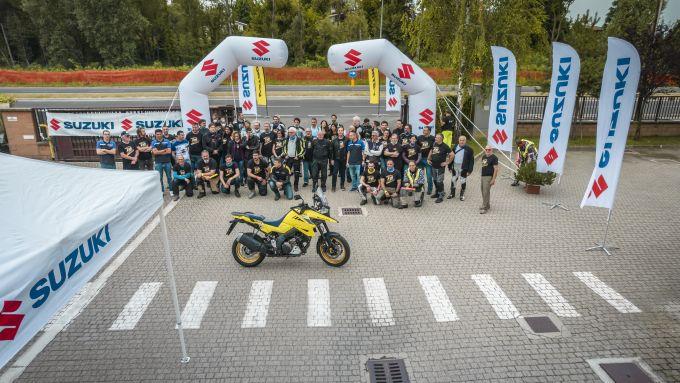 V-Strom Day: si parte da Robassomero, sede di Suzuki Italia