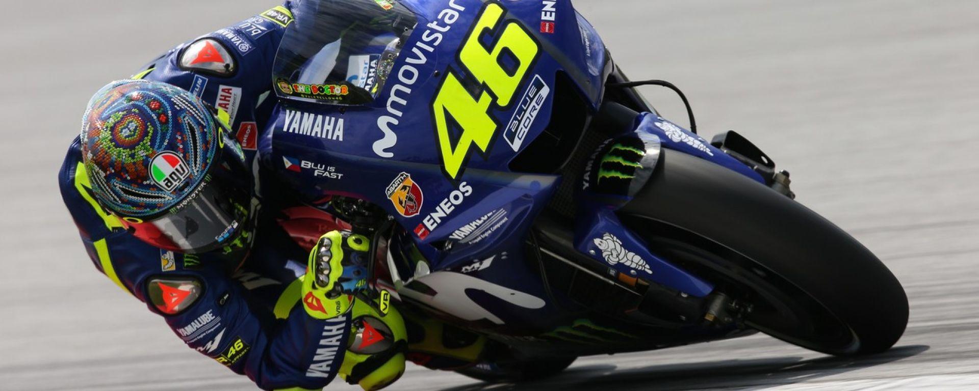 MotoGP: Yamaha dà più peso a Rossi che a Vinales per la M1 - MotorBox