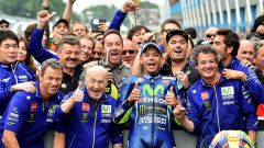 Valentino Rossi al GP d'Olanda