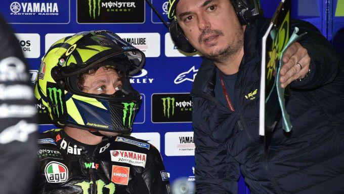Valentino Rossi e Alessio