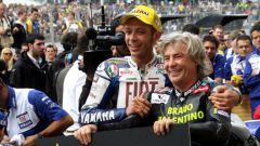 Valentino Rossi e Angel Nieto: grande stima e amicizia tra i due piloti