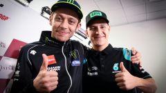 Valentino Rossi e Fabio Quartararo (Yamaha)