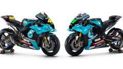 Valentino Rossi e Franco Morbidelli (Yamaha Petronas SRT)