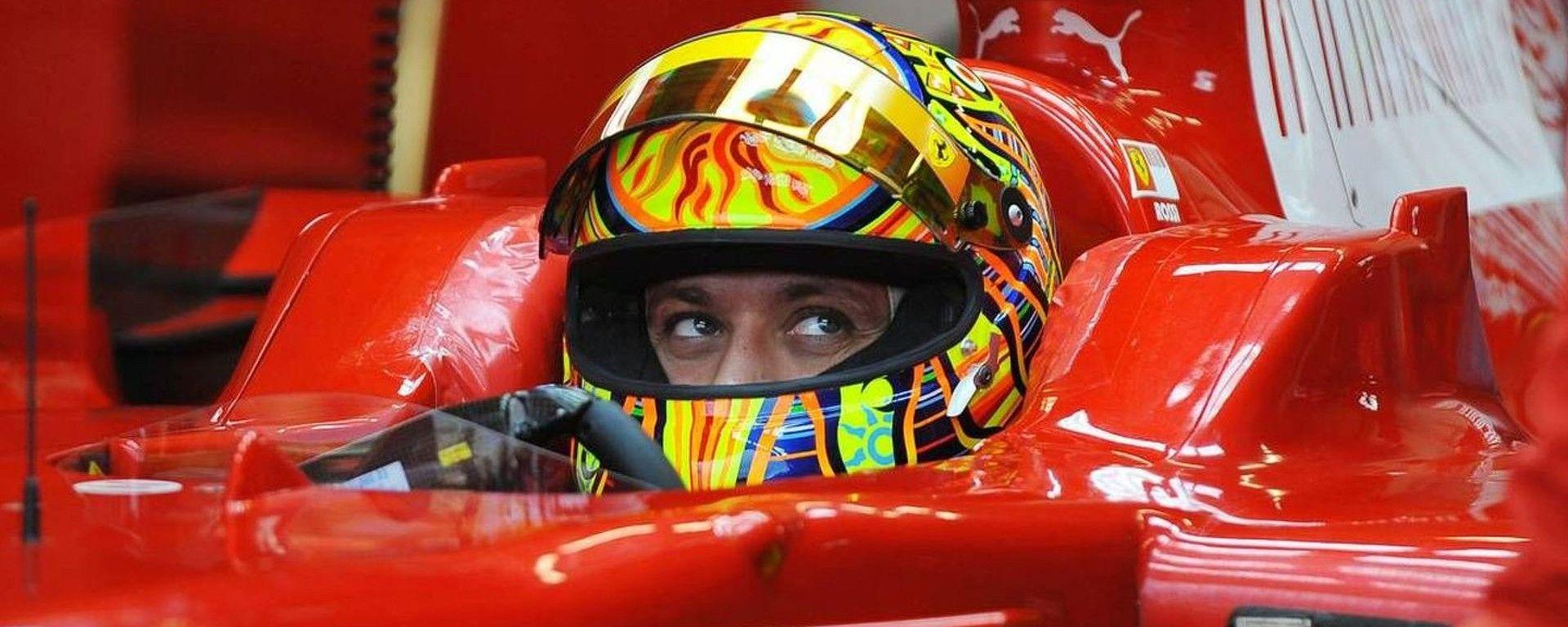 Valentino Rossi: guidare la Mercedes di Rosberg? Magari!