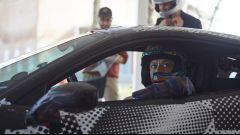 Valentino Rossi e la Ferrari 488 Pista