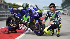 Valentino Rossi e la Yamaha M1 2017
