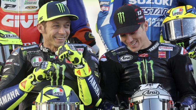 Valentino Rossi e Maverick Vinales (Yamaha Factory Racing)