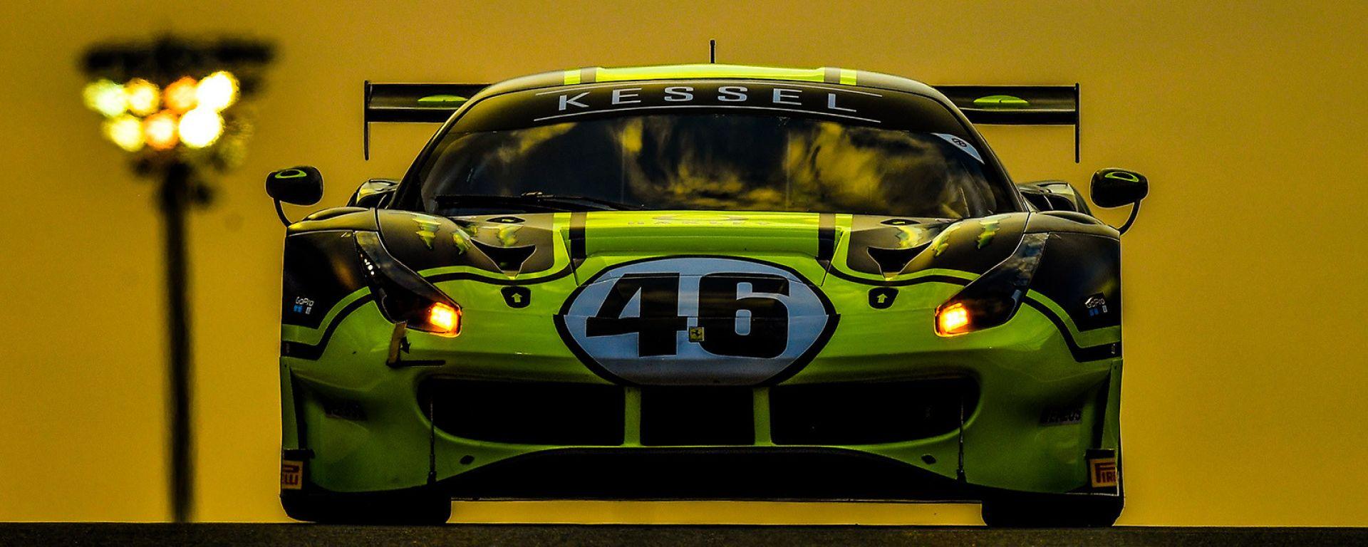 Valentino Rossi (Ferrari 488 GT3 - Monster VR46 Kessel), 12 ore del Golfo 2019