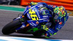 Valentino Rossi in azione a Jerez