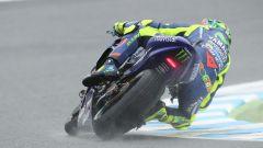 Valentino Rossi in azione