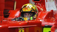 Valentino Rossi in Ferrari
