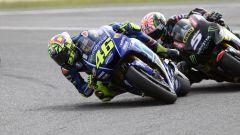 Valentino Rossi in lotta con Johann Zarco