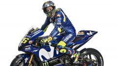 Valentino Rossi in sella alla Yamaha M1 2018