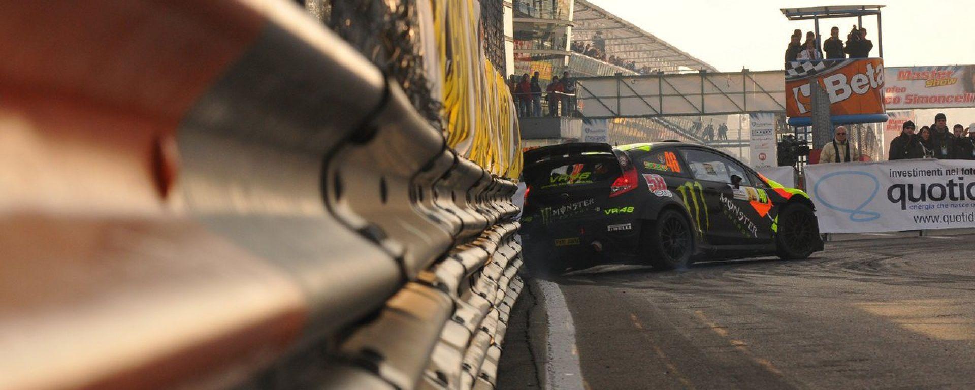 Valentino Rossi in versione rallyman