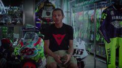 Valentino Rossi nella web series con Dainese