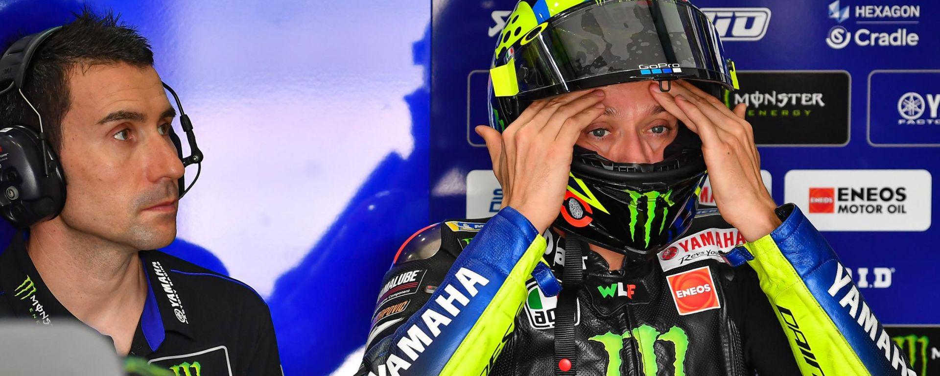 Valentino Rossi, test MotoGP 2020 Qatar